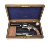 Cased British Smith & Wesson Style Pocket Revolver (AH5597)