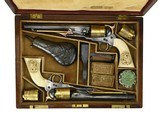 """""""Beautiful Double Cased Set of Special Order Colt 1860 Army Pistols. (AC25)"""""""
