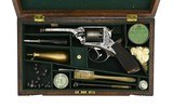 Beautiful Cased Engraved Tranter 4th Model revolver (AH5680)