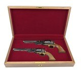 """Cased Factory Engraved Colt 1851 Navy and Dragoon (C16504)"""