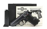 Manurhin PPK/S .380 ACP (PR50665)