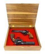 """Beautiful Pair of Cased Colt Snake Guns (C16586)"""