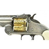 """""""New York Engraved Smith & Wesson 1st Model American .44 American (AH5607)"""" - 6 of 9"""