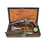 """""""Factory Engraved Cased Colt 1862 Police Presentation (C11561)"""" - 1 of 18"""