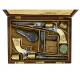 """""""Beautiful Double Cased Set of Special Order Colt 1860 Army Pistols (AC25)"""" - 1 of 15"""