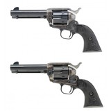 """""""Consecutive Pair of Colt 3rd Gen. SAA'S .45 LC (C17388)"""""""