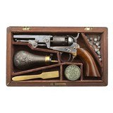 """Cased Colt 1849 Pocket Revolver (AC237)"""