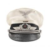 """German WWII Luftwaffe Officer's Visor Cap (MM1463)"""