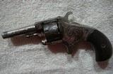 hopkins and allen 22 blue jacket revolver - 2 of 4