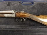 John Dickson , Edinburgh .16 bore round action ejector with damascus barrels . Made 1905 - 1 of 9