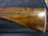 John Dickson , Edinburgh .16 bore round action ejector with damascus barrels . Made 1905 - 5 of 9