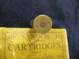 Kynoch .500 Express Rifle Smokeless Cartridges, 3