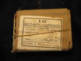 Early Eley 500 Express Solid Metal Cartridges,10 Packet, In Their Original Paper And String Wrapper - 1 of 2