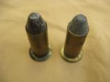 Maynard Brass 50 Caliber Cartridges, Unfired, Two Shells, Rare - 2 of 3