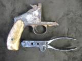 44 Smith & Wesson Model 3 Russian Ivory Grips, Pritchett Bullet Mold, Montana 1870's Dug Up - 1 of 8