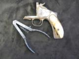 44 Smith & Wesson Model 3 Russian Ivory Grips, Pritchett Bullet Mold, Montana 1870's Dug Up - 2 of 8