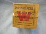 .45 Winchester Gatling Gun Orignal Box, 25 Blank Cartridges, Sealed Box - 2 of 4