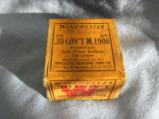 An Original Box Of 25 Winchester .30 Government M 1906 Soft Pointed Bullets- 1 of 5