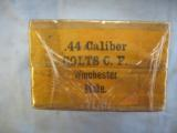 Colt 44 Rifle Cartridges By Winchester, Sealed, 50 Solid Head, Center Fire Reloading - 3 of 4