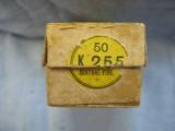 50 Kynoch Rook Rifle Cartridges In .225 C. F., Two Piece Box - 4 of 4