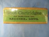 Winchester .44 Caliber C.F. Shot Cartridges Adapted To Model 1873 And Other .44 Caliber Rifles - 2 of 3