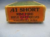A Two Piece Box Of Winchester .41 Short Rifle Cartridges - 4 of 5
