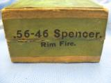 56-46 Spencer Rim Fire Cartridges, 25, Union Metallic Cartridge Co. Spencer Sporting Rifle - 3 of 5
