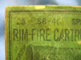 56-46 Spencer Rim Fire Cartridges, 25, Union Metallic Cartridge Co. Spencer Sporting Rifle - 4 of 5
