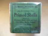 Winchester Two Piece Box, .32- .40 Center Fire Primed Shells, Model '94, Single Shot Rifles, Ballard, Marlin - 1 of 4