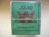Winchester Two Piece Box, .32- .40 Center Fire Primed Shells, Model '94, Single Shot Rifles, Ballard, Marlin - 3 of 4