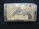 .38 S & W Early Top Break Center Fire Revolver Cartridges, 50 Rounds, Marked Made In Germany - 1 of 2