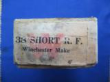 Winchester .38 Short Rim Fire Rifle Cartridges, Stetson's Patent Oct. 31, 1871 - 3 of 3