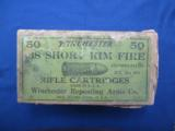 Winchester .38 Short Rim Fire Rifle Cartridges, Stetson's Patent Oct. 31, 1871 - 1 of 3