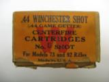 Winchester .44 Game Getter Center Fire Shot Cartridges, Two Piece Box - 2 of 2