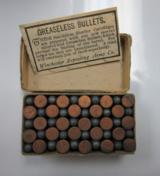Winchester .22 Short Rifle Cartridges, Stetsons Patent October 1871, Smokeless - 2 of 6