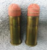 A Rare Pair Of .577 Snider Shot Cartridges, From The Dominion Cartridge Co. - 3 of 4