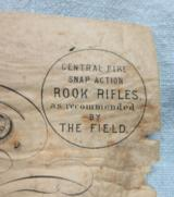 An Early Original Henry Holland Gun Case Trade Label - 2 of 4