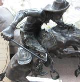 Fredric Remington, Wooly Chaps, 23 X 22