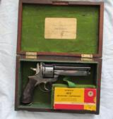 Early & Rare Webley Pryse .455 Fitted With Folding Blade, Circa 1871, Blanch Pistol Box