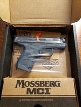 """MOSSBERGMB MC-1 9MM LUGER 3.4"""" 7-SHOT TRUGLO TRITIUM NGT SGT"""
