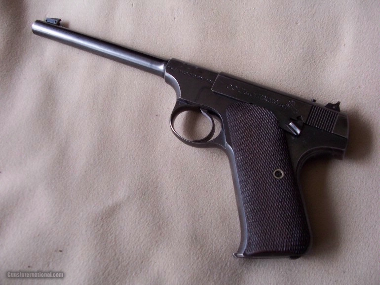 Colt Woodsman--First Series--[1931-1932]-Target - 1 of 1