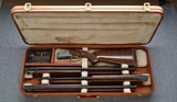 BROWNING SUPERPOSED DIANA 3 BARREL SET 20, 28, AND 410 WITH CASE