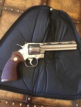 "Colt Python 6"" Bright Nickel"