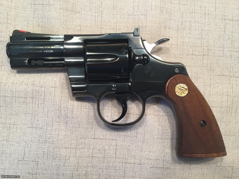 Colt PYTHON  357 3 INCH BARREL