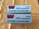 Winchester-Western .348 Unprimed Brass (NOS)