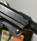 Mauser Luger 1937 All Matching w/ Bring Back Paper, Holster, 2 Mags (not matching), Ammo - 4 of 14
