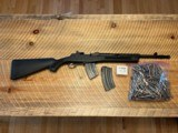 Un-fired Ruger Mini 30 Tactical with 300 7.62x39 Rounds