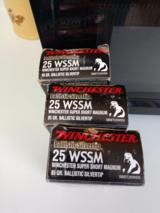 WINCHESTER 25 WSSM 85 GRAIN BULLETS - 1 of 4
