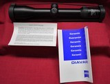 ZEISS Diavari V 1.5-6x42 T* reticle #11 Germany