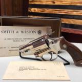 Smith & Wesson Model 37 No Dash Nickel